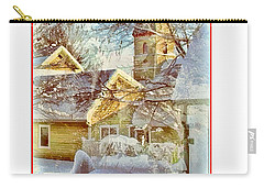 Trinity Episcopal Church In The Snow - Shepherdstown  Carry-all Pouch