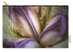 Carry-all Pouch featuring the photograph Trinity by Jean OKeeffe Macro Abundance Art