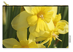 Tripartite Daffodil Carry-all Pouch
