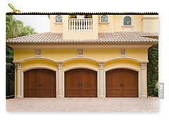 Triple Garage Doors Carry-all Pouch