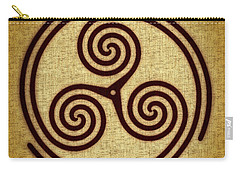 Triskelion  Carry-all Pouch by Olga Hamilton