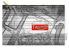 Triumph B W Carry-all Pouch