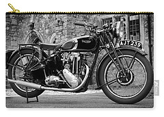 Triumph De Luxe 1939 Carry-all Pouch by Mark Rogan