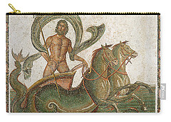 Triumph Of Neptune Carry-all Pouch by Roman School