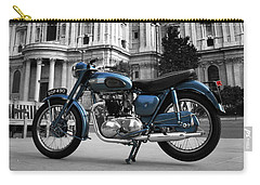 Triumph Thunderbird At St Pauls Cathedral Carry-all Pouch