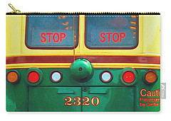 Trolley Car - Digital Art Carry-all Pouch by Robyn King