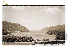 Trophy Point North Fro West Point In Sepia Tone Carry-all Pouch