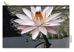 Tropical Floral Elegance Carry-all Pouch by Byron Varvarigos