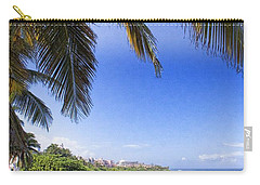 Tropical Holiday Carry-all Pouch by Daniel Sheldon