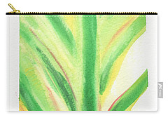 Tropical Leaf Carry-all Pouch by C Sitton