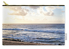 Carry-all Pouch featuring the photograph Tropical Morning  by Roselynne Broussard