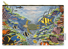 Tropical Paradise Carry-all Pouch by Jeffrey Koss