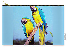 Tropical Parrots In San Francisco Carry-all Pouch