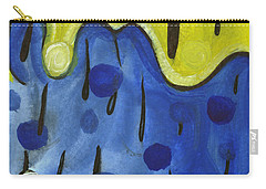 Carry-all Pouch featuring the painting Tropical Rain by Stephen Lucas