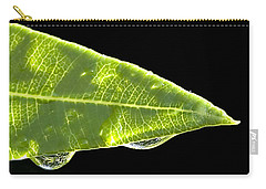 Carry-all Pouch featuring the photograph Tropical Reflections by Anne Rodkin
