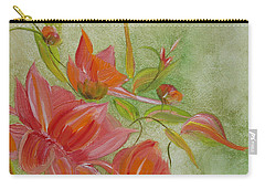 Tropical Splash Carry-all Pouch by Judith Rhue