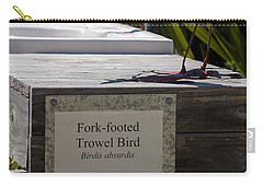 Trowel Bird Carry-all Pouch