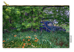 Truck In The Forest Carry-all Pouch by Paul Freidlund
