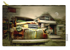 Truckyard Carry-all Pouch by Diana Angstadt