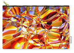 Carry-all Pouch featuring the digital art True Brilliance by Andreas Thust