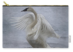 Trumpeter Swan - Misty Display Carry-all Pouch