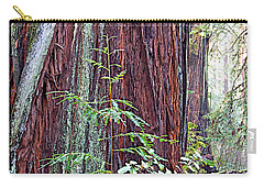 Trunk Of Coastal Redwood In Armstrong Redwoods State Preserve Near Guerneville-ca Carry-all Pouch