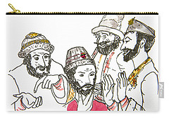 Tsar And Courtiers Carry-all Pouch