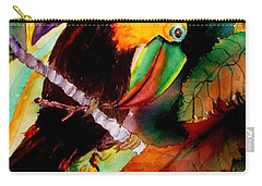 Tu Can Toucan Carry-all Pouch by Lil Taylor