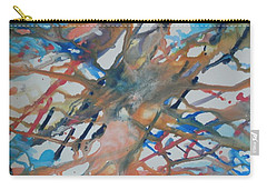 Carry-all Pouch featuring the painting Tube by Thomasina Durkay