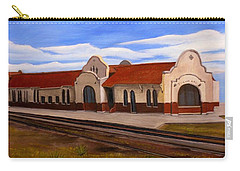 Tucumcari Train Depot Carry-all Pouch