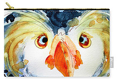 Tufted Puffin Carry-all Pouch by Dawn Derman