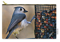 Tufted Stance Carry-all Pouch by Lana Trussell