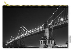 Tugboat Under The Bay Bridge Carry-all Pouch