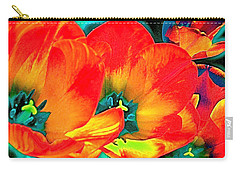 Carry-all Pouch featuring the photograph Tulip 1 by Pamela Cooper
