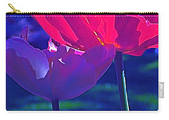 Carry-all Pouch featuring the photograph Tulip 3 by Pamela Cooper