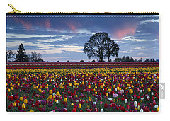 Tulip Field's Last Colors Carry-all Pouch by Wes and Dotty Weber