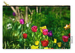 Tulip Rainbow Carry-all Pouch