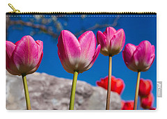 Tulip Revival Carry-all Pouch by Chad Dutson