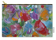 Tulip Symphony Carry-all Pouch by Judith Rhue