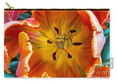 Carry-all Pouch featuring the photograph Tulip Two by Kate Brown