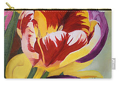 Tulips Carry-all Pouch by Claudia Goodell