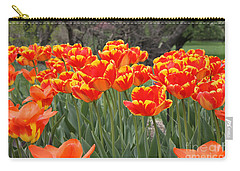 Carry-all Pouch featuring the photograph Tulips From Brooklyn by John Telfer