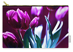 Tulips In Purple Carry-all Pouch