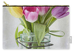 Tulips In A Jar Carry-all Pouch