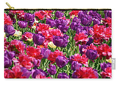 Tulips In A Meadow Carry-all Pouch