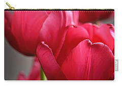 Tulips In The  Morning Light Carry-all Pouch by Mary Machare