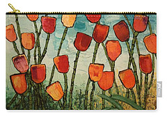 Tulips Carry-all Pouch by Linda Bailey