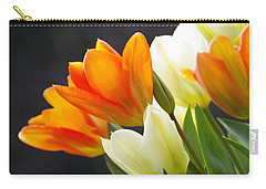 Carry-all Pouch featuring the photograph Tulips by Marilyn Wilson