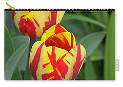 Tulips Carry-all Pouch by Tony Murtagh