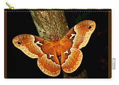 Tuliptree Silkmoth Carry-all Pouch